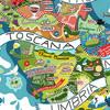 Винная карта Италии от Antoine Corbineau
