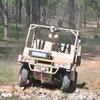 Видео показало работу военного беспилотного автомобиля на учениях
