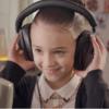 Детская версия Джесси Вейр в клипе Sweet Talk