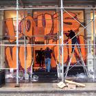 Louis Vuitton, стилизованный под граффити