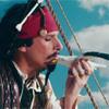Крип дня: Джек Воробей на одиноком острове