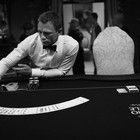 007: DANIEL CRAIG: BEHIND THE SCENES BW PHOTOGRAPHY