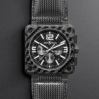 Bell & Ross Instrument BR01–94 Carbon Fiber Chronograph
