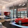 Дизайн автосалона BMW