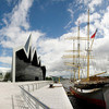 Музей транспорта Glasgow Riverside от Zaha Hadid