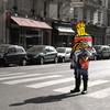 Фотографические эксперименты на улицах Парижа Начо Ормачеа