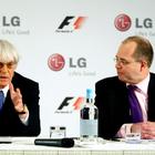 LG становится глобальным партнером Formula 1