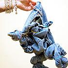 Каксварить джинсы