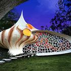 Биоорганическая архитектура: дом ракушка