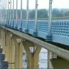 """""""Танцующий"""" мост через Волгу"""