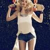 Александра Спенсер для новой коллекции Car Mar весна 2012