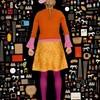 Психоделические фотоинсталляции из этикеток, чеков и флаеров