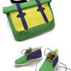 Кеды и сумка в одном стиле теперь не проблема
