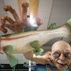 Огромная статуя Голлума из «Властелина Колец»
