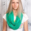 Осенняя коллекция ярких шарфов-снудов