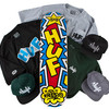 HUF HOLIDAY 2011 COLLECTION // FEAT. HUF x HAZE COLLABORATION