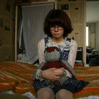 Настоящая девочка и её куклы