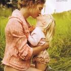 Счастливая мамочка-Наталья Водянова