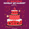 3 года SUNDAY UP MARKET!!!