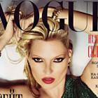 Кейт Мосс на сентябрьской обложке русского Vogue