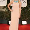 Хайди Клум в платье CK Collection на церемонии премии «Золотой глобус»