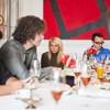 Вон Вонни поговорил с друзьями за завтраком о русской моде и Нью-Йорке