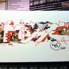 Граффитчик Илья Кейс на ART Vegas