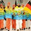 Немецкая олимпийская сборная показала форму для Сочи-2014
