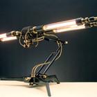 Стимпанк лампы от Франка Бухвальда