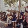 Хиппи-рынок в 70-е