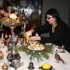 Под Новый год Наталья Жук устроила ужин с Джузеппе Арчимбольдо