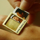 Оригинальное кольцо со сменными вкладышами