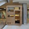 В аэропорту Шереметьево установлен капсульный отель