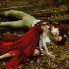 Энн Лейбовиц для Vogue: Ромео-Роберто Болле и Джульетта-Коко Роча