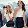 Превью кампании: Миранда Керр и Юлия Штегнер для Bally SS 2012