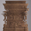 Итальянский дизайнер создал деревянный глитч-шкаф