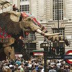 La machine, La princesse, La éléphant. Гигантские животные