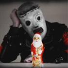 Немного рождественского трэша от Slipknot на немецком MTV
