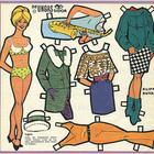 Бумажные куклы 1960-х годов!