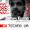 Techno.ua podcast 007: James Kumo [Ann Aimee, Curle]