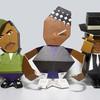 HIPHOPHEADS: Бумажные игрушки