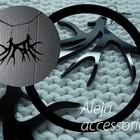 Aleja accessories - серьги из акрила. Сам себе дизайнер