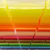 Художница собрала аналоговую палитру RGB