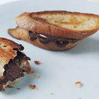 Горячие шоколадные бутерброды