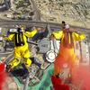Бейсджамперы засняли новый рекорд на GoPro