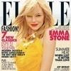 Обложки: Elle и Marie Claire