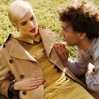 Perfect harmony. Agyness Deyn Albert Hammond Jr