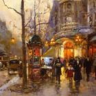 Эдуард Леон Кортес. Перенесёмся в Париж