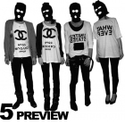 5 Preview – hot black&white tees