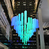49 парящих кристаллов посреди «Цветного»